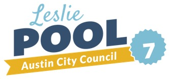 Re-Elect Leslie Pool