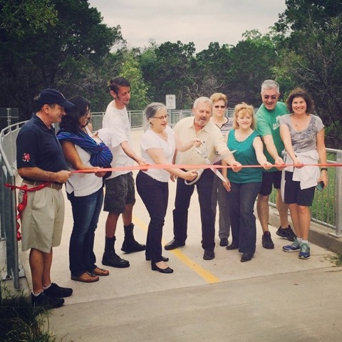 North Walnut Creek Trail Ribbon Cutting