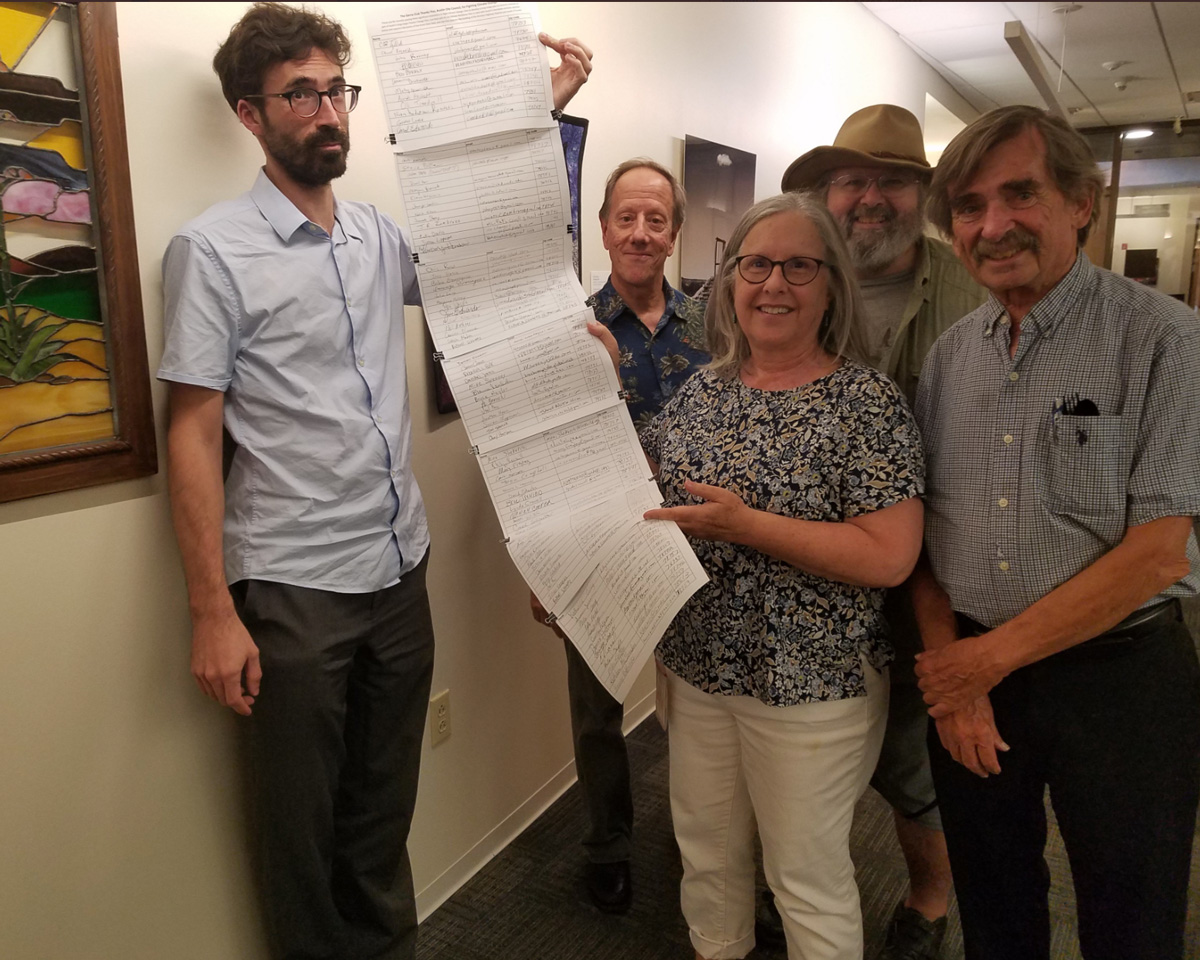 Austin Sierra Club -Gratitude matters. Here Sierra Club members thank Leslie Pool for opposing the Permian Highway Pipeline, and for supporting a Climate Resiliency Plan, the Climate Emergency Resolution, and a plan for electrification of vehicles. Thank you again, Leslie Pool